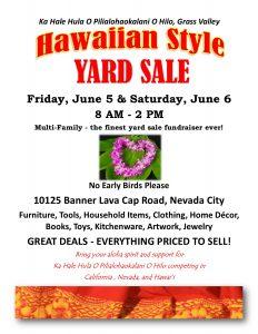 Hawaiian Style Yard Sale